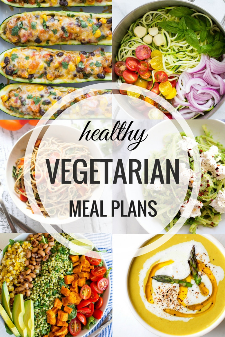Healthy Vegetarian Meal Plans: Week One - Making Thyme for ..