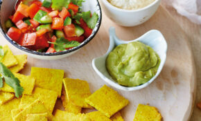Healthy vegetarian nachos recipe