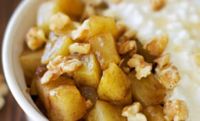 Healthy Warm Cinnamon Apple Mess – Apple Of My Eye – Healthy Recipes Using Apples