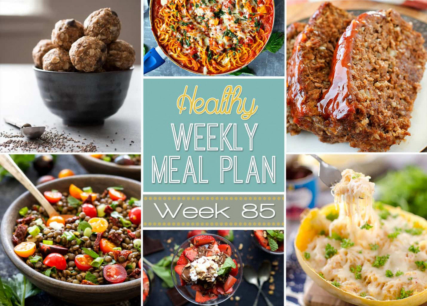 Healthy Weekly Meal Plan #10 - Yummy Healthy Easy - healthy recipes for a week