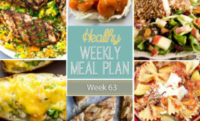 Healthy Weekly Meal Plan #13 - Yummy Healthy Easy