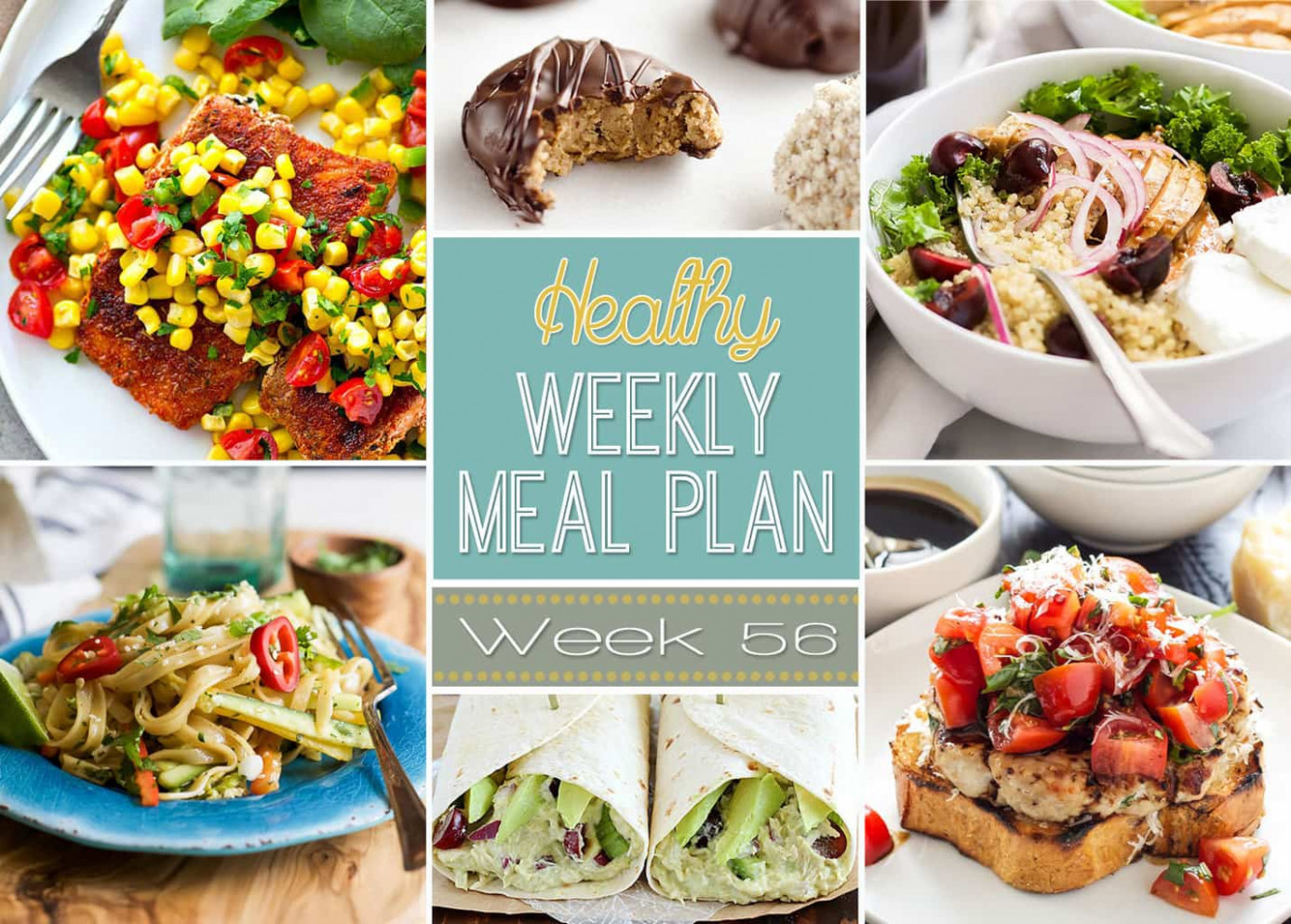 Healthy Weekly Meal Plan #13 - Yummy Healthy Easy - Healthy Recipes To Try