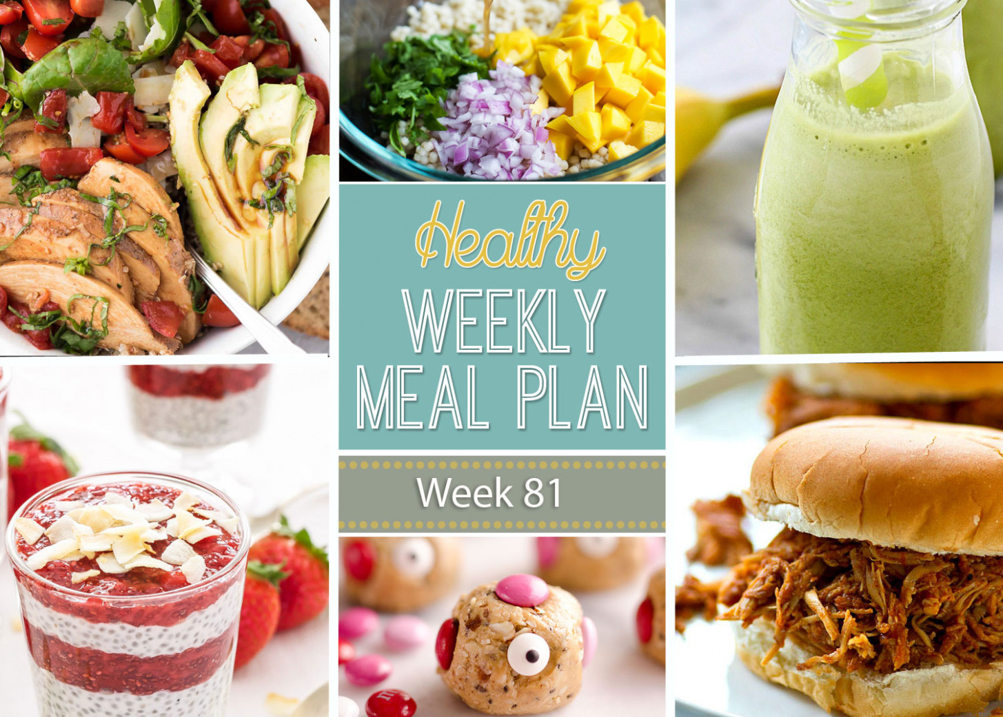 Healthy Weekly Meal Plan #14 - Recipe Runner - recipes dinner this week