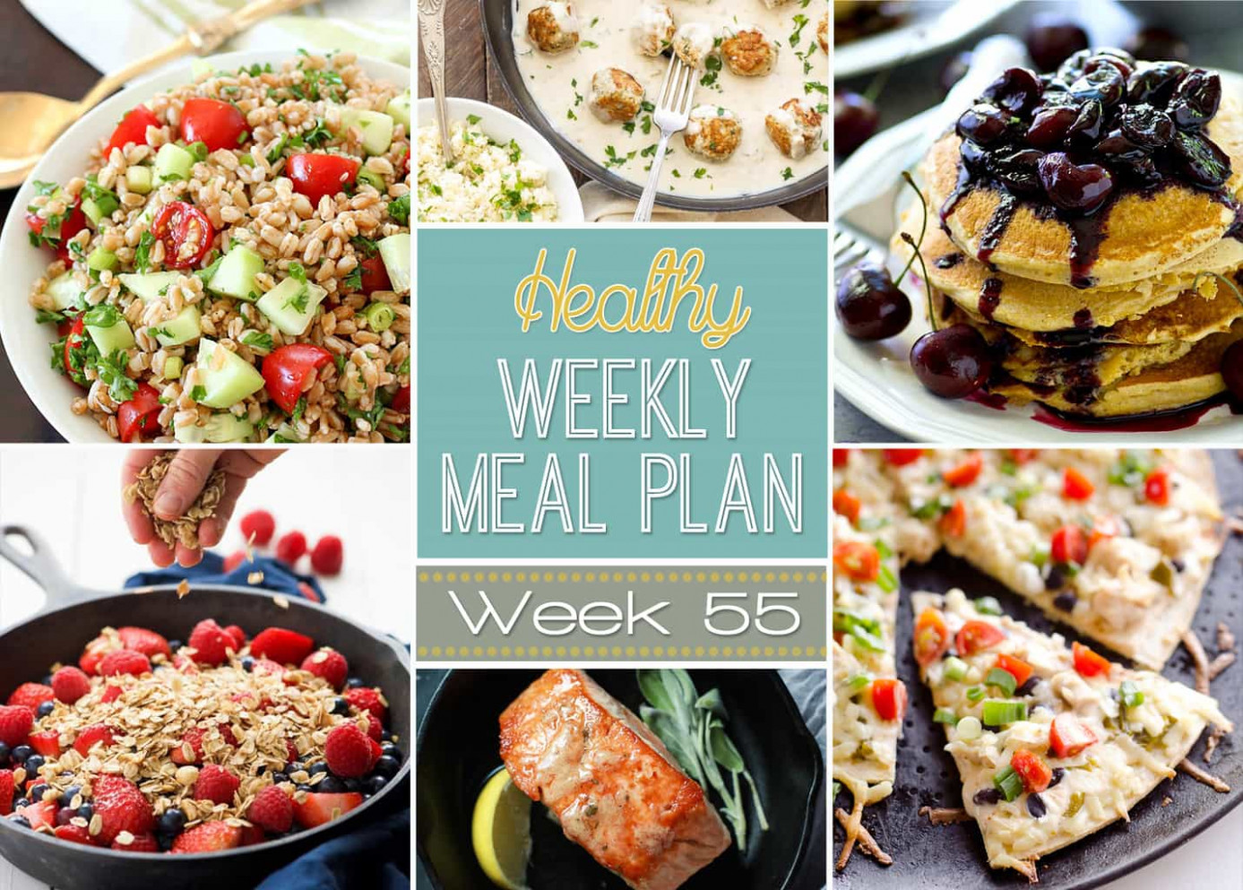 Healthy Weekly Meal Plan #15 - Yummy Healthy Easy - Healthy Recipes Kitchenaid Mixer