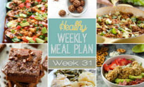 Healthy Weekly Meal Plan #31 – Yummy Healthy Easy – Healthy Recipes Meal Plan