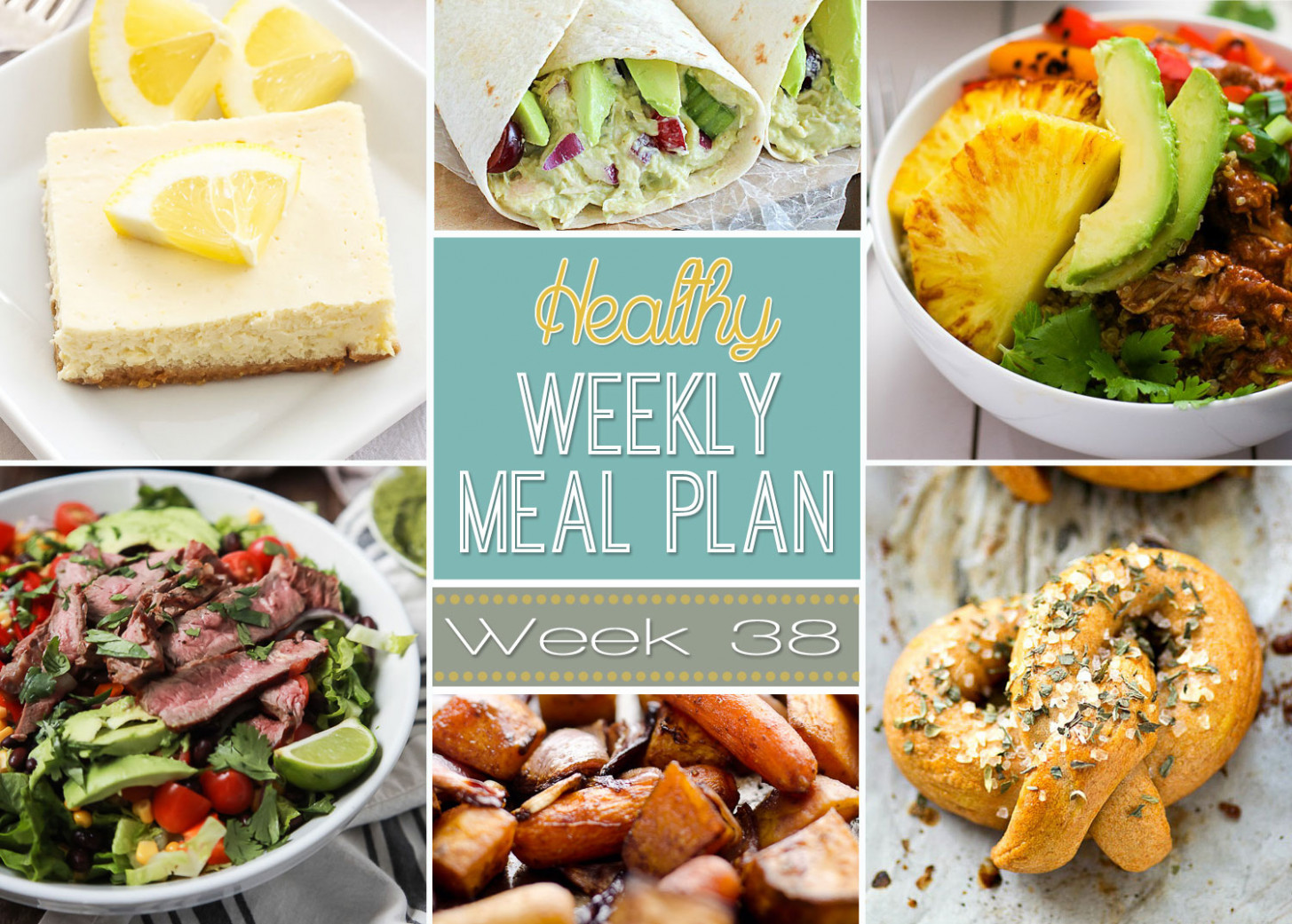 Healthy Weekly Meal Plan #38 - Recipe Runner - healthy recipes runners
