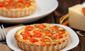 Healthy Whole Wheat Vegetable Quiche – Snixy Kitchen – Recipes Quiche Vegetarian