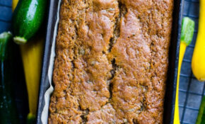 Healthy Zucchini Bread (Video) – IFOODreal – Healthy ..