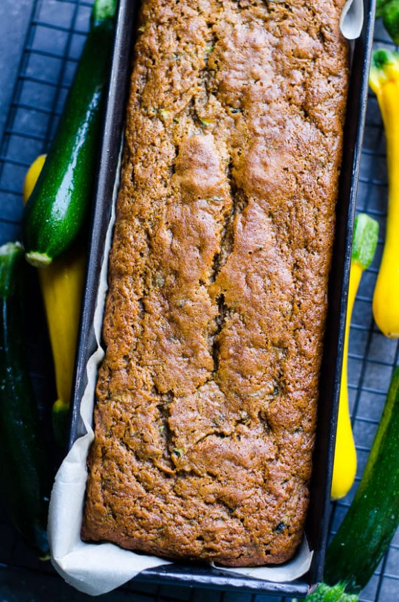 Healthy Zucchini Bread (Video) - IFOODreal - Healthy ..
