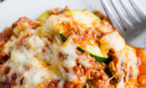 Healthy Zucchini Lasagna Recipe – Good Food Recipes For Dinner