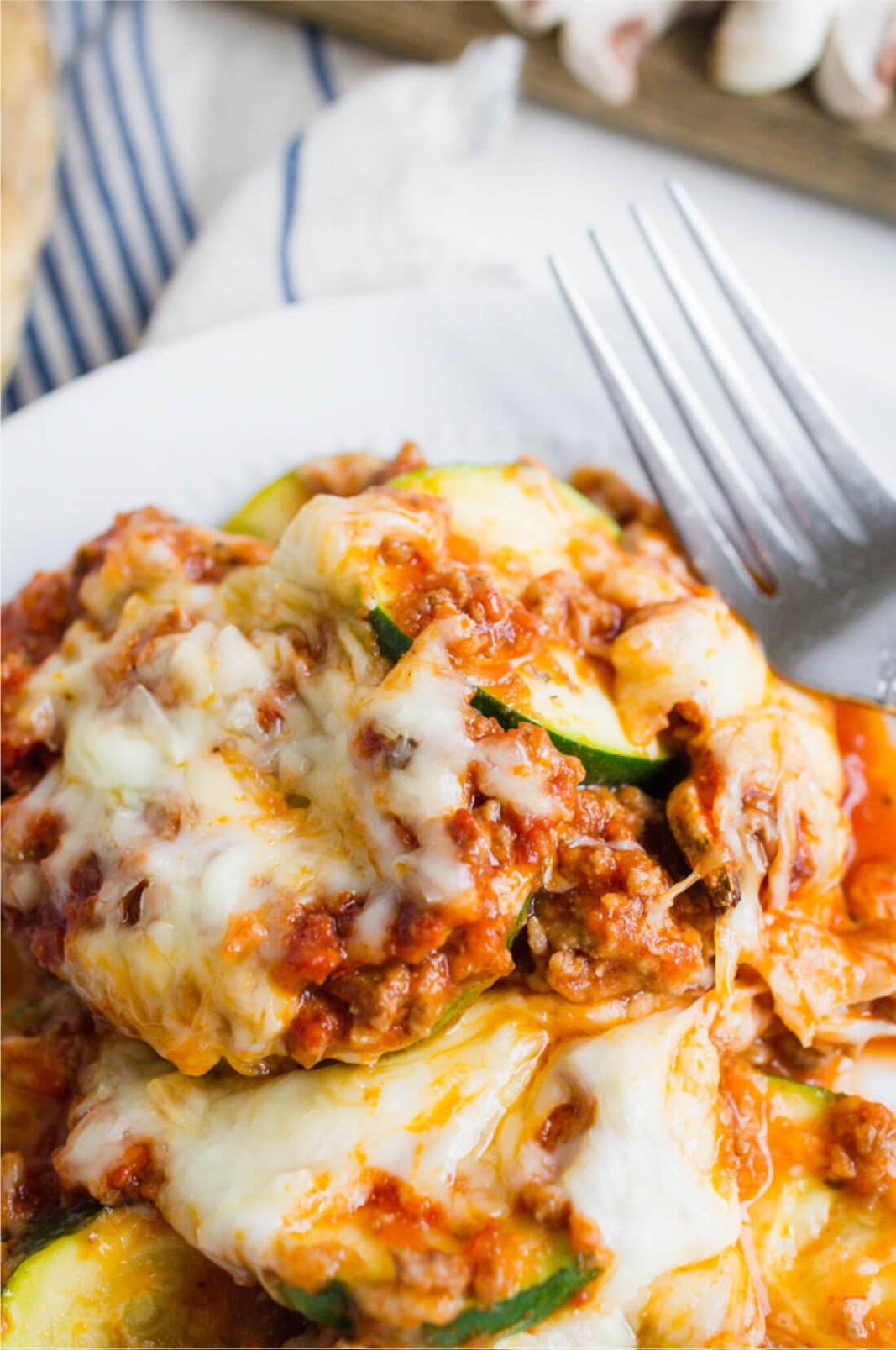 Healthy Zucchini Lasagna Recipe - good food recipes for dinner