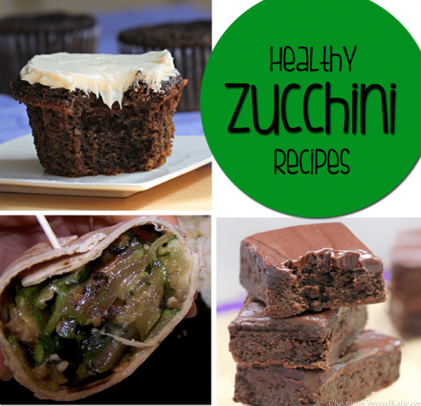 Healthy Zucchini Recipes - 15 Delicious Ways To Eat Zucchini! - healthy zucchini dessert recipes