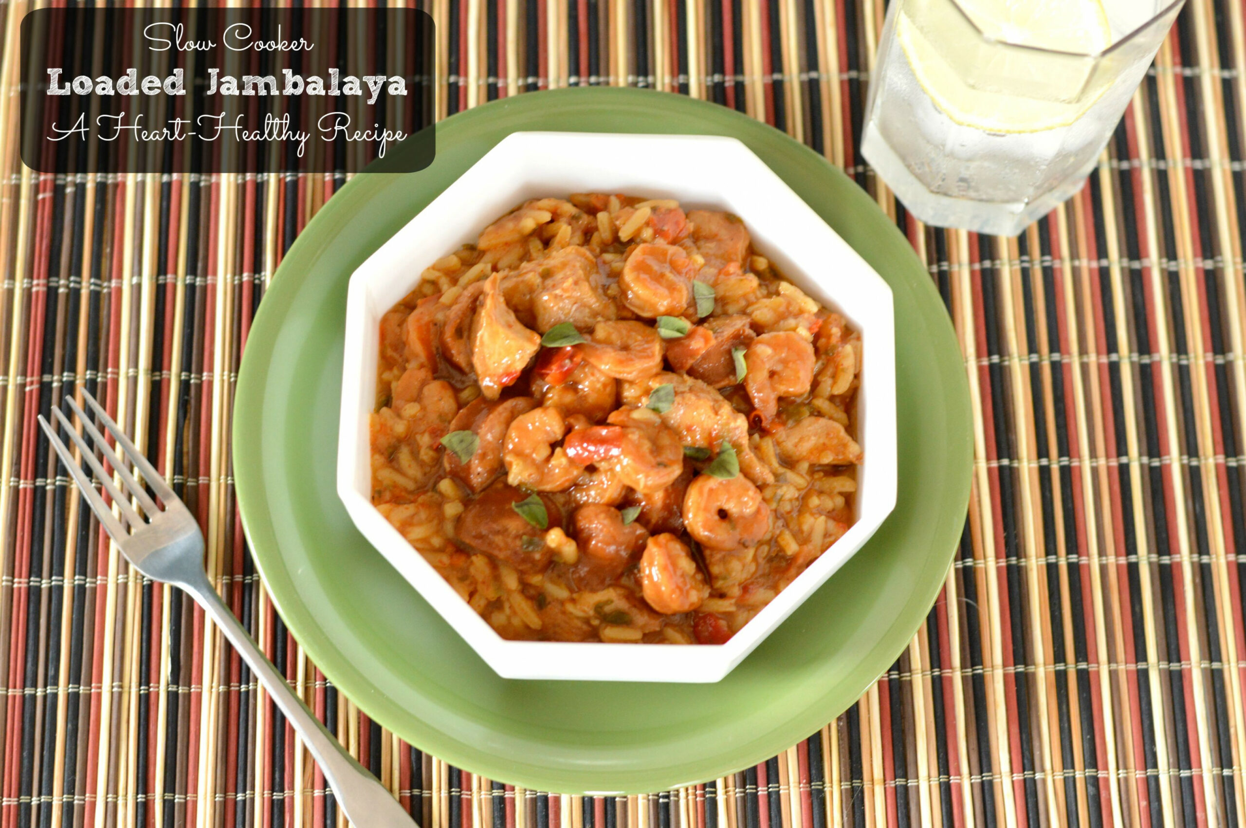 Heart Healthy Crock Pot Jambalaya - healthy recipes in crock pot