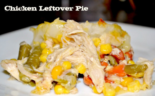 Heart Healthy Leftover Chicken Pie Recipe - recipes for leftover chicken