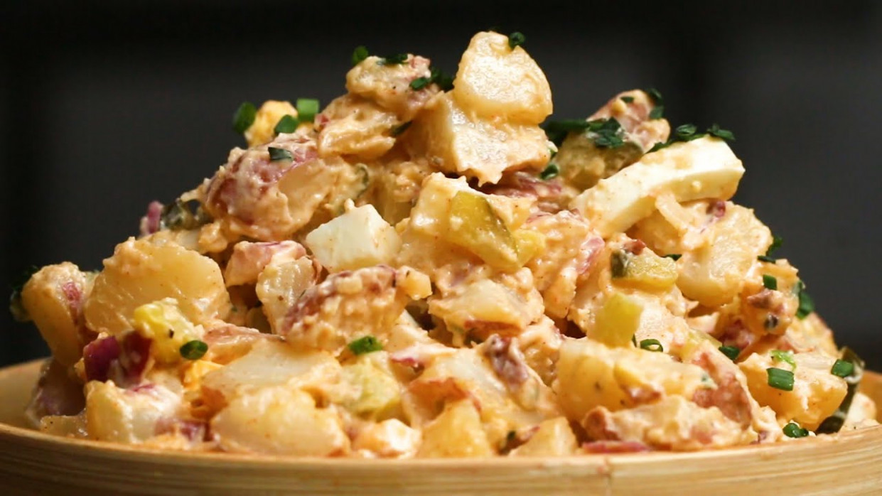 Hearty Potato Salad | Recipecreek - pressure cooker xl chicken breast recipes