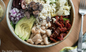 Hearty Vegetarian Greek Salad – Greek Recipes Vegetarian