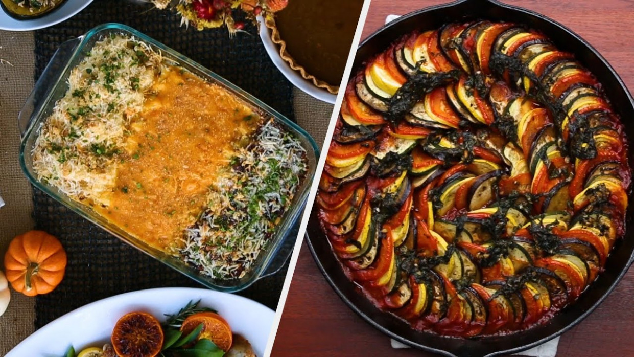 Hearty Vegetarian Recipes Fit For A Holiday Party • Tasty - the best vegetarian recipes