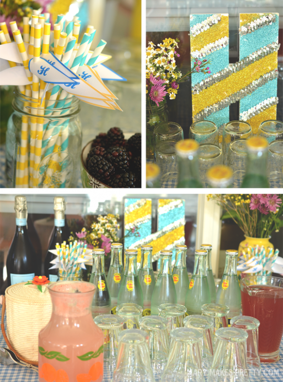 Heather's Picnic Themed Bridal Shower (Mary Makes Good ..
