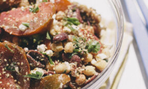 Heirloom Za'atar Salad – Zaatar Recipes Vegetarian