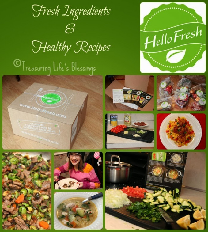 Hello Fresh - Treasuring Life's Blessings - Recipes And Food Delivery