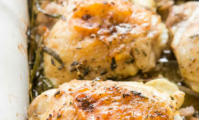 Herb Roasted Chicken Thighs With Potatoes Recipe ..