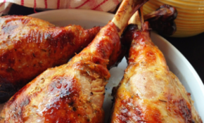 Herb Roasted Turkey Leg Recipe – Paleo Cupboard – Healthy Recipes Roasted Turkey Legs