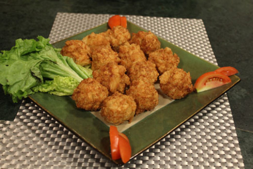 Hi Tea Prawn Chicken Ball Recipe By Chef Zakir - Cook with ..