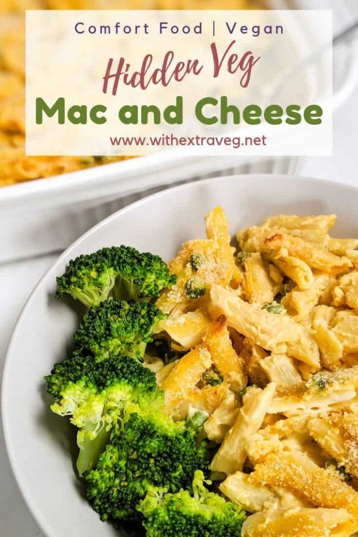 Hidden Veg Mac and Cheese - WithExtraVeg - healthy recipes hidden vegetables