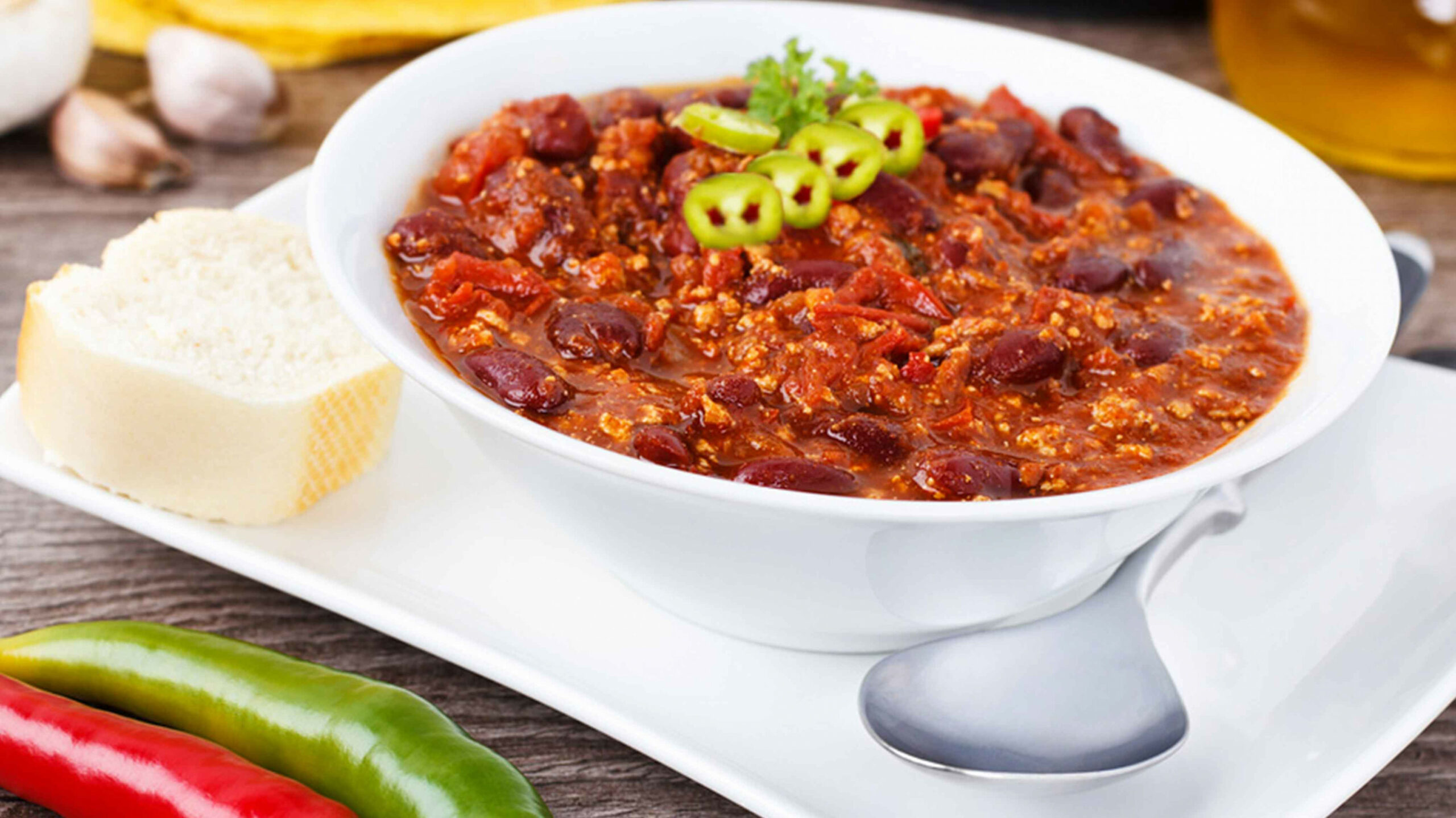 High Fiber Chili - food recipes high in fiber