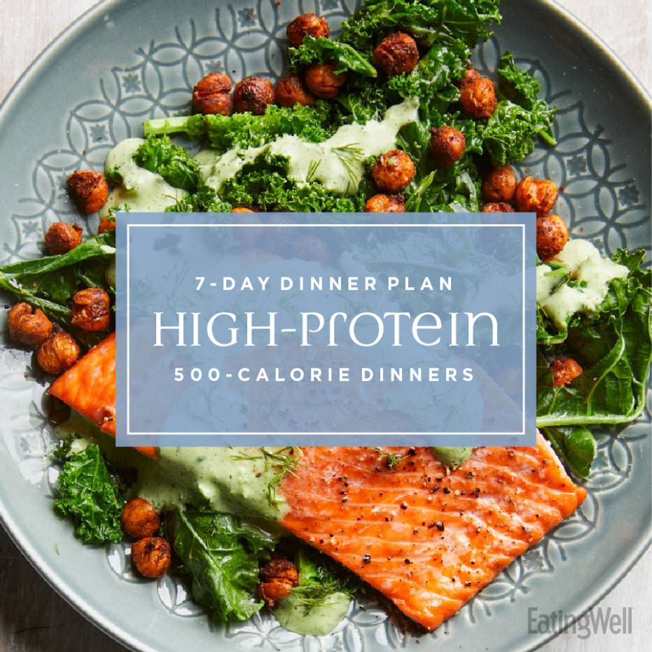High-Protein 15-Calorie Dinners | EatingWell - healthy recipes high protein