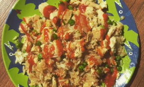 "High Protein Chicken ""Fried"" Rice : Fitmeals – Healthy Recipes High Protein"