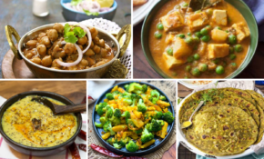 High Protein Indian Vegetarian Main Course Recipes For Body ..