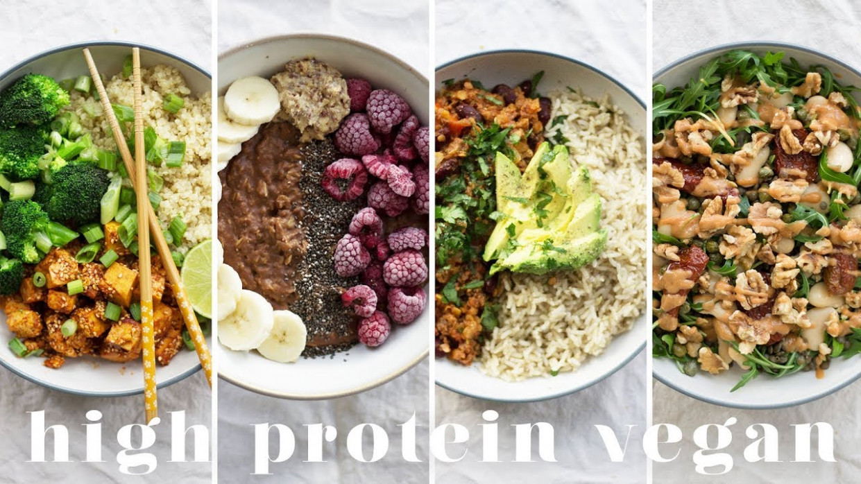 HIGH PROTEIN VEGAN MEALS | 15 Recipes = 15g Protein - recipes vegetarian high protein