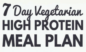 High Protein Vegetarian Meal Plan – Build Muscle And Tone Up – Vegetarian Recipes That Are High In Protein