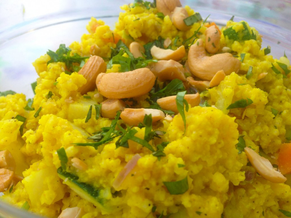 Hindi Millet with vegetables. [RECIPE] [VEGAN] [HEALTHY ..