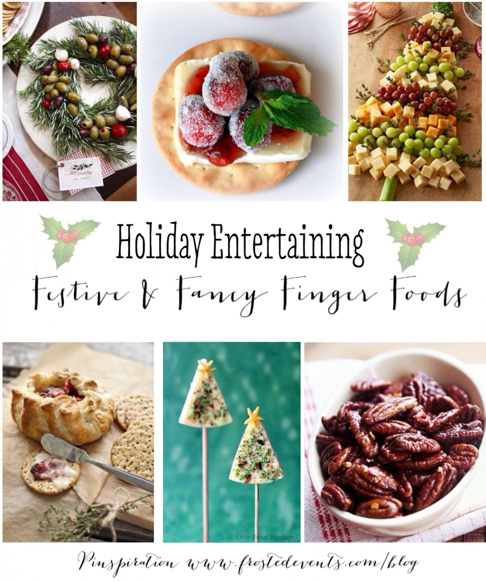 holiday entertaining party food - food junction recipes