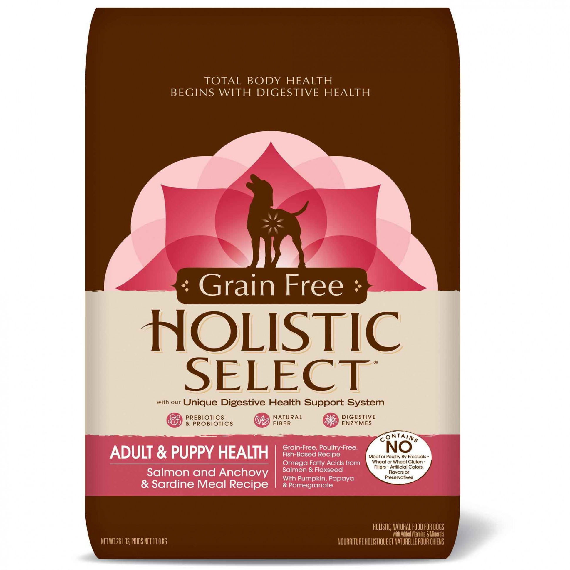 Holistic Select-Dog Food - Adult & Puppy Salmon, Anchovy ..