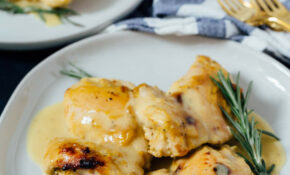 Holy Yum Chicken - Maple and Dijon Mustard Chicken Recipe