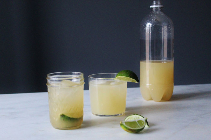 Homemade Alcoholic Ginger Beer Recipe on Food52 - food recipes using ginger beer