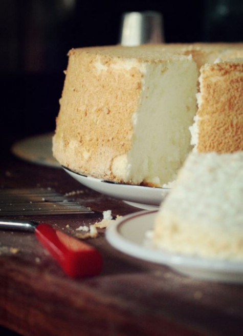 Homemade Angel Food Cake Recipe With Tips, NOT A Box Mix ..