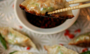 Homemade Asparagus And Tofu Gyoza Recipe – Katiecakes ..