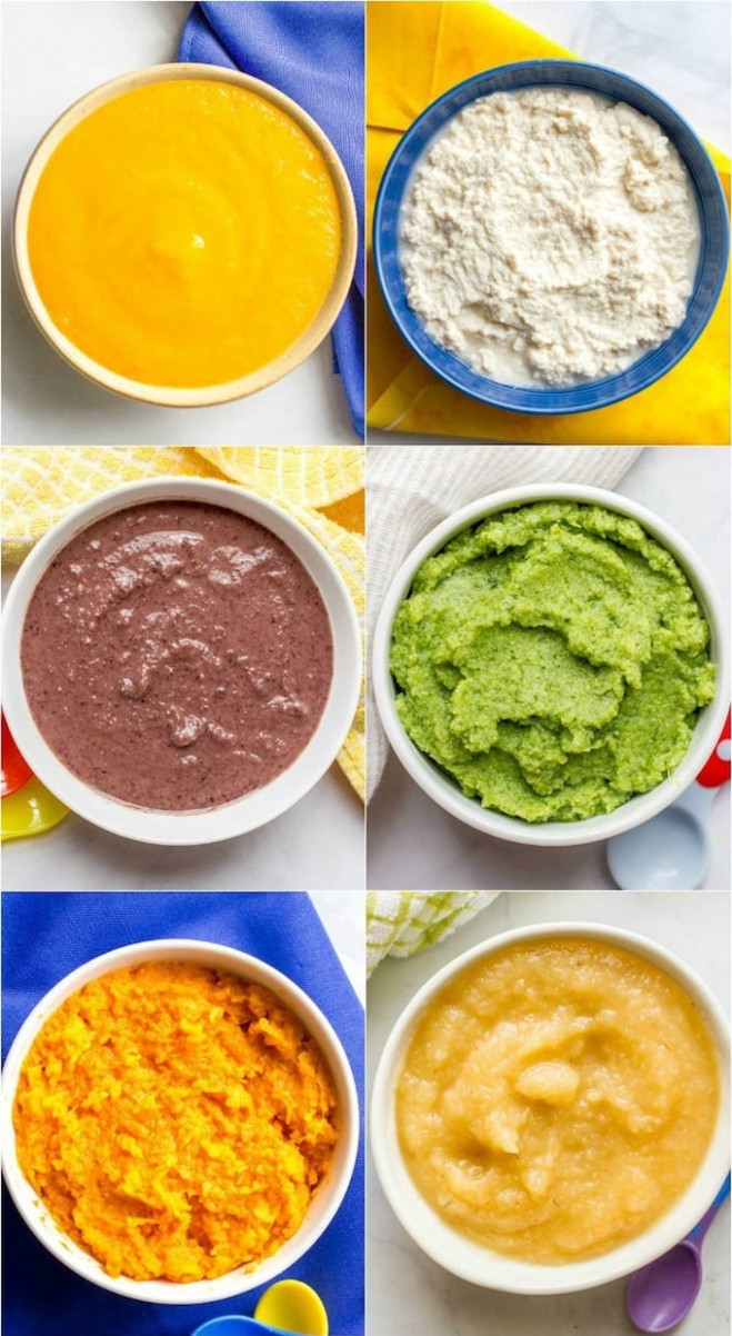 Homemade baby food combinations - Family Food on the Table - baby food recipes