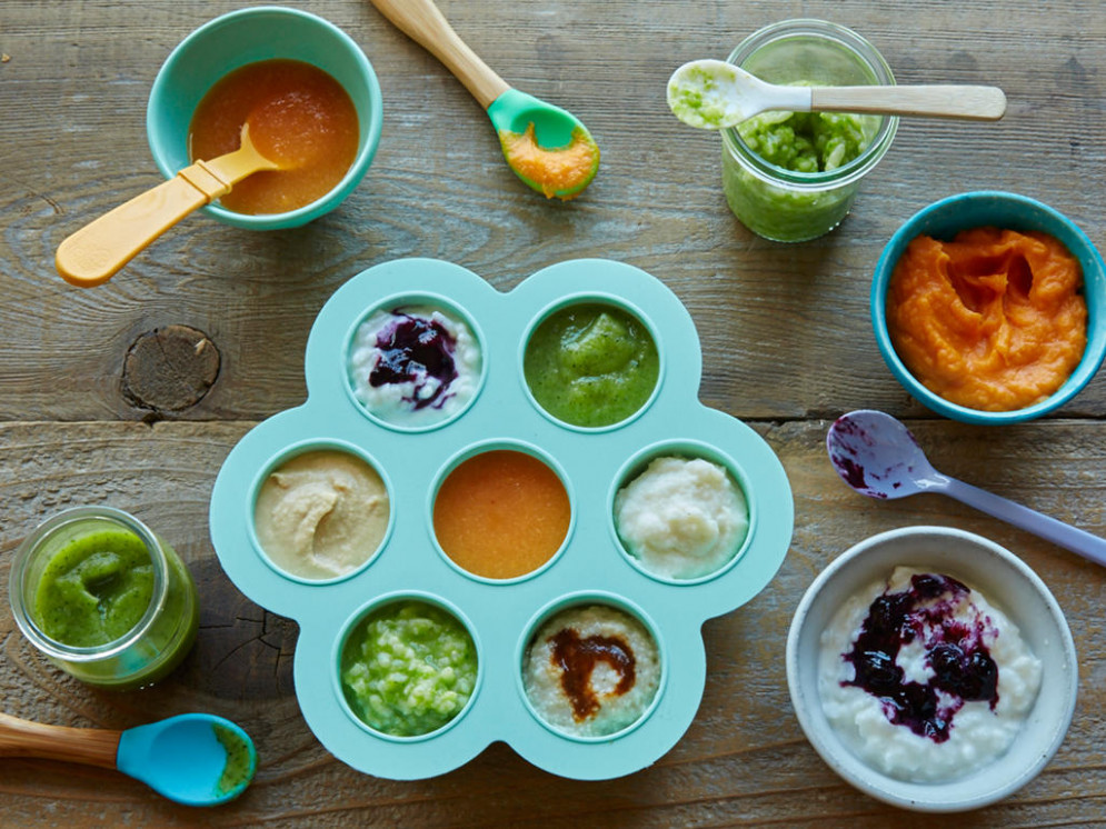 Homemade baby food recipes for 8 to 10 months - Photo ..