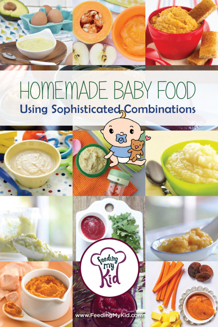 Homemade Baby Food Using Sophisticated Combinations - recipes using baby food