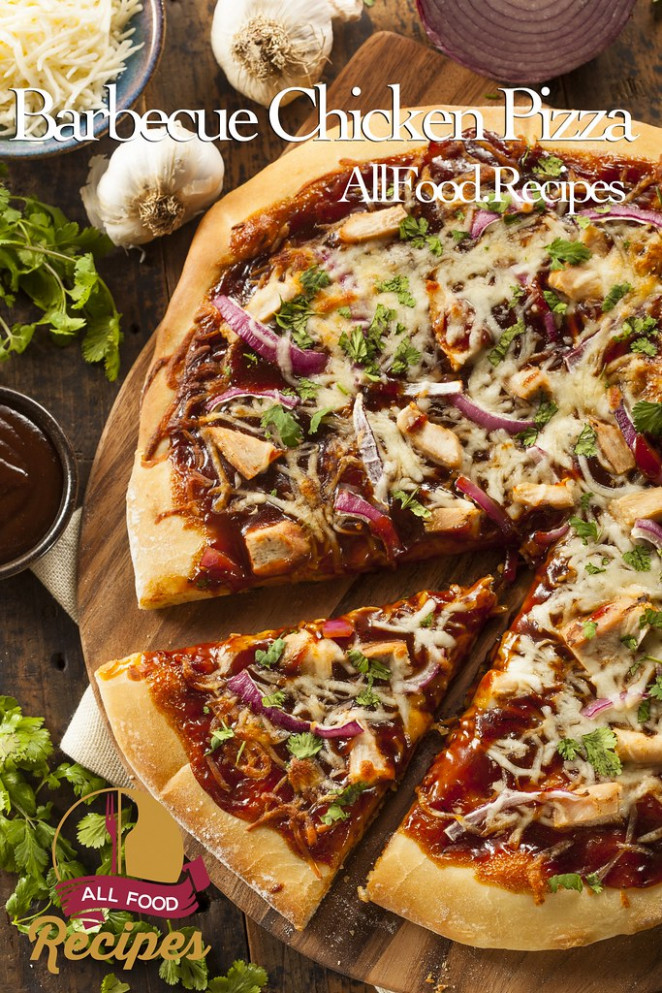 Homemade Barbecue Chicken Pizza - healthy recipes junk food