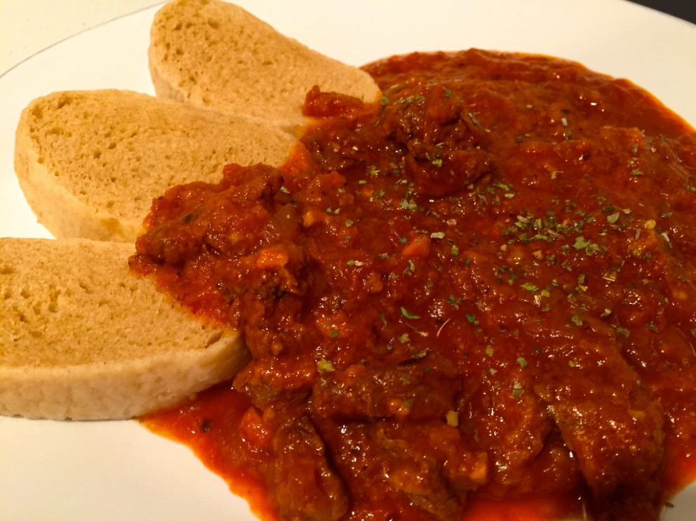 Homemade beef goulash and dumplings - food recipes on youtube