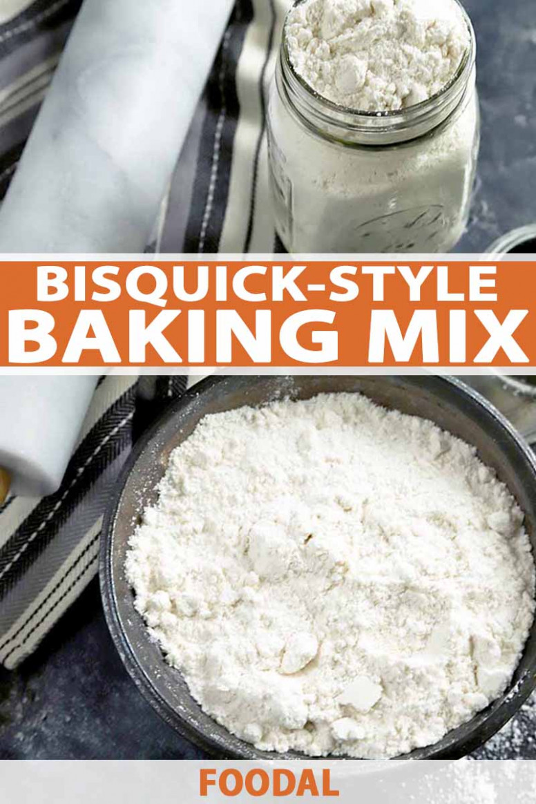 Homemade Bisquick-Style Pancake and Baking Mix Recipe | Foodal - bisquick recipes dinner