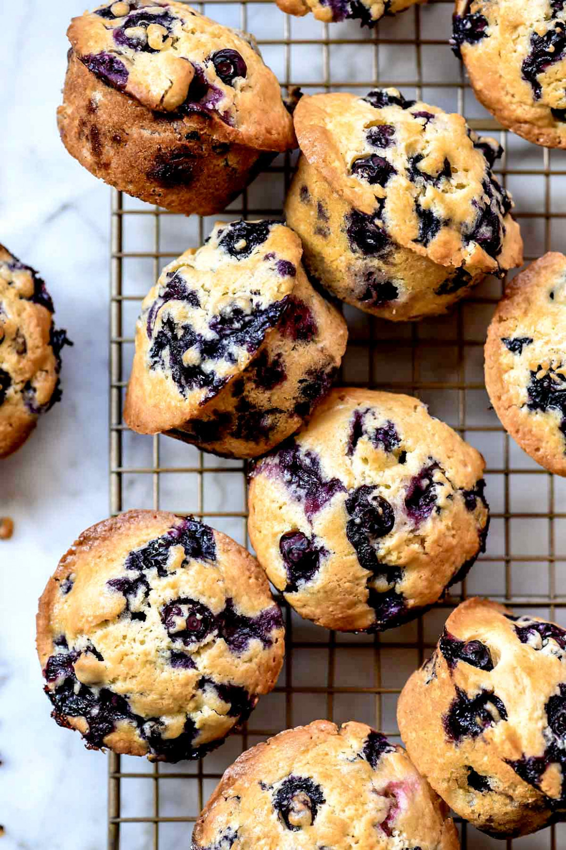 Homemade Blueberry Muffins (From Scratch!) | Foodiecrush