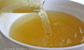 Homemade Chicken Stock • Steele House Kitchen – Recipes That Use Chicken Broth