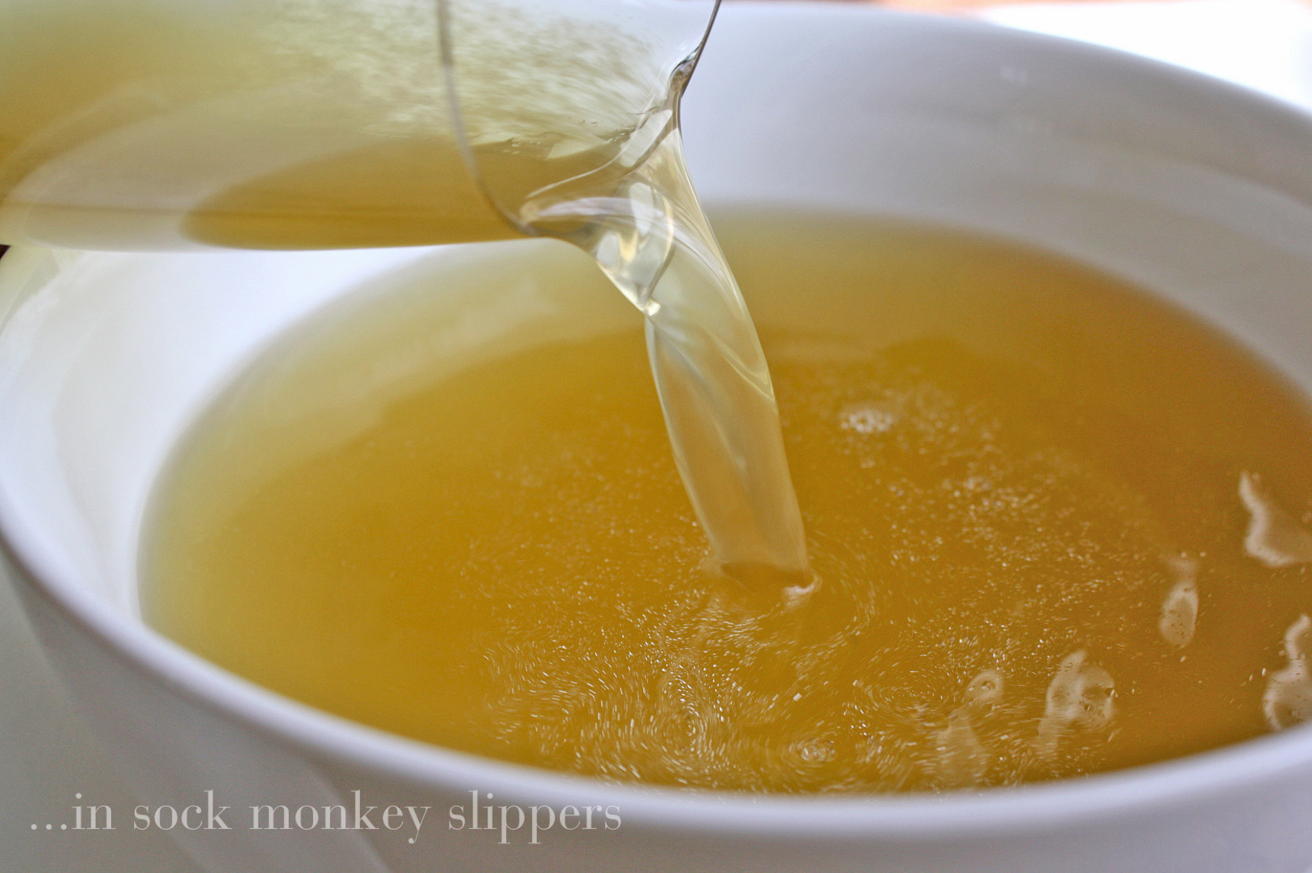 homemade chicken stock • Steele House Kitchen - recipes that use chicken broth